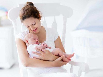 Take care of newborn baby in winter