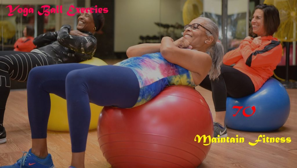 Yoga Ball to Mention Fitness