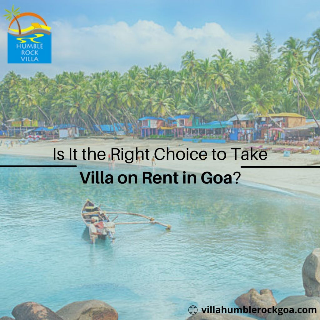 villas for rent in goa with private pool